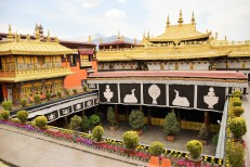 Golden Splendour...Jokhang Temple in Lhasa (photo by Emily Tsui)