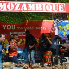 Grooving to Mozambican jams...they do it best!
